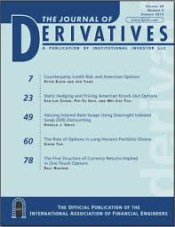 Journal of Derivatives