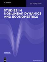 Studies in Nonlinear Dynamics and Econometrics